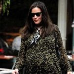 pregnant Liv Tyler out in NYC t