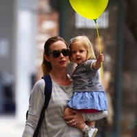 Emily Blunt Runs Errands With Daughter Hazel in LA