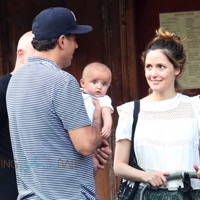 Bobby Cannavale & Rose Byrne Step Out With Son Rocco in NYC