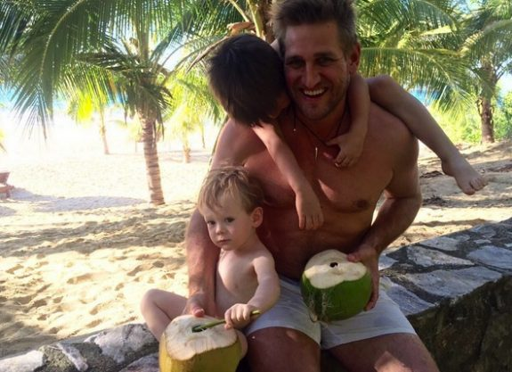 Curtis Stone Father's Day with kids Hudson and Emerson