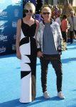 Ellen Degeneres and Portia De Rossi at the Finding Dory Premiere