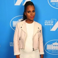 Kerry Washington Attends The White House's United State of Women Summit