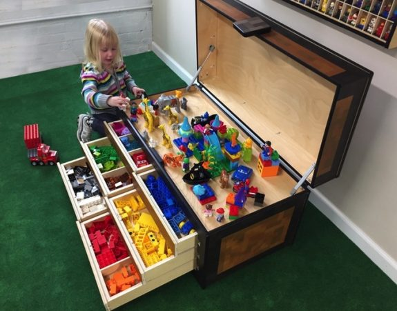 Larscraft Maker's Chest, A Lego & Toy Storage Solution