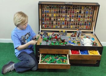 Larscraft Maker's Chest, A Lego and Toy Storage Solution