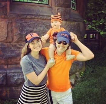 Lauren Bush Lauren and David Lauren with son James