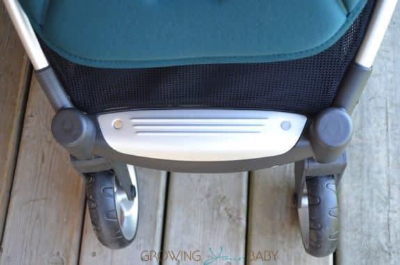 Mamas & Papas Armadillo Flip XT Stroller - fixed footrest