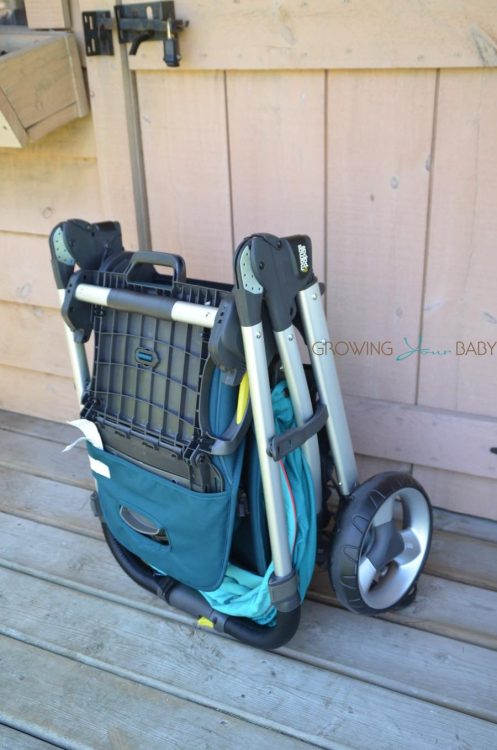 Mamas & Papas Armadillo Flip XT Stroller - folded