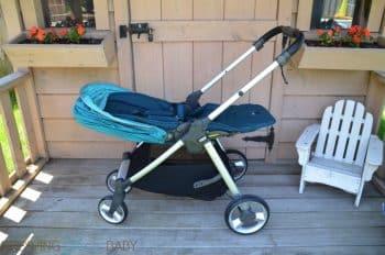 Mamas & Papas Armadillo Flip XT Stroller - fully reclined