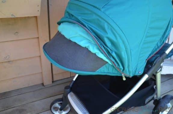 Mamas & Papas Armadillo Flip XT Stroller - mesh panel