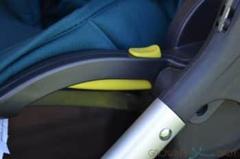 Mamas & Papas Armadillo Flip XT Stroller - seat levers