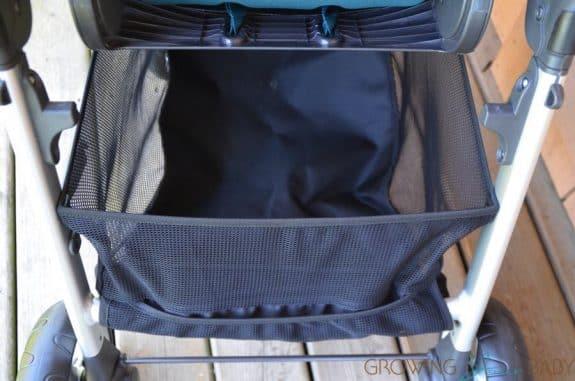 Mamas & Papas Armadillo Flip XT Stroller - storage basket