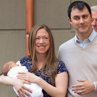 Marc Mezvinsky and Chelsea Clinton Show Off Their Baby Boy!