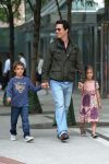 Matthew Mcconaughey steps out in NYC with kids Levi & Vida