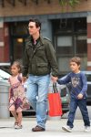 Matthew Mcconaughey steps out in NYC with kids Levi and Vida