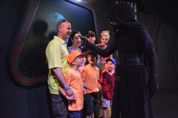 Meeting Kylo Ren At Hollywood Studios 2016