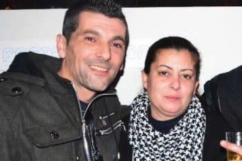 Miguel Angelo Faria and partner, Sandra Pedro