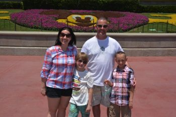 My family at Walt DIsney World 2016