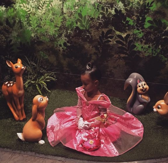 North West celebrates her 3rd birthday at DIsneyland