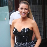 Blake Lively Promotes Her New Movie in NYC!