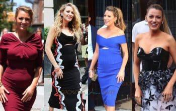 Pregnant Blake Lively Media Tour New York City