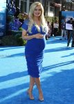 Pregnant Holly Madison at the Finding Dory Premiere