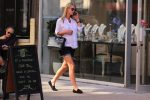 Pregnant Nicky Hilton Rothschild steps out in NYC