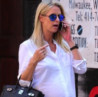 Nicky Hilton Runs Errands in NYC