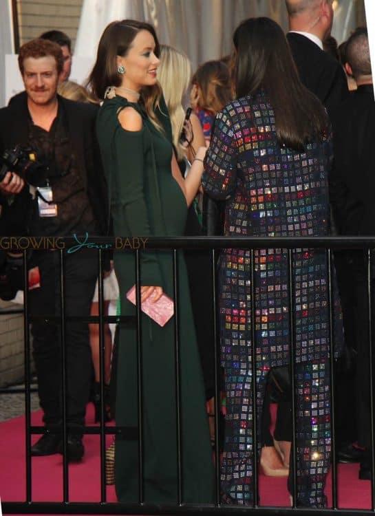 Pregnant Olivia Wilde at the 2016 CFDA Awards