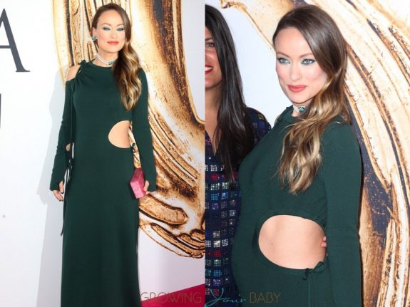 Pregnant Olivia Wilde at the 2016 CFDA Awards NYC