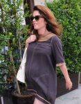 Pregnant Robin Tunney Runs Errands In Beverly Hills