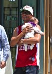 Rapper T.I. steps out in Beverly Hills with daughter Heiress