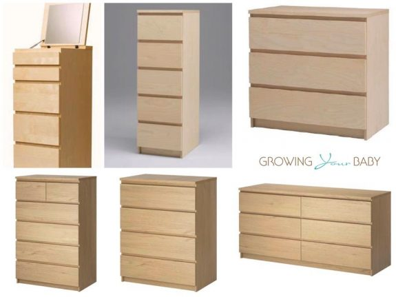 Recalled IKEA MALM dresser collection
