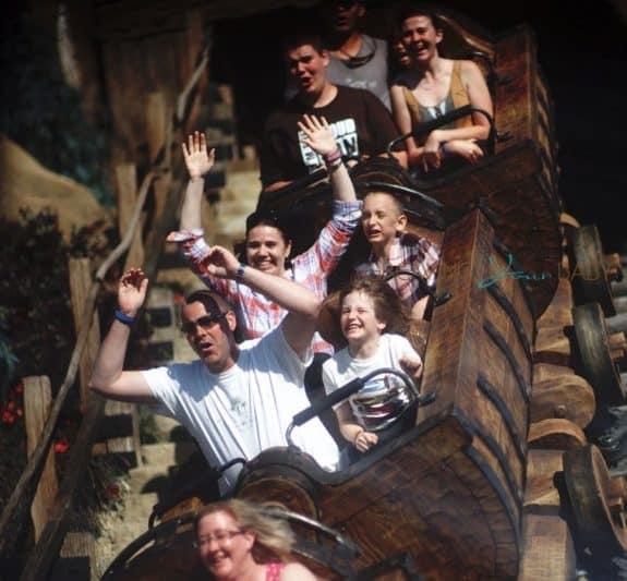 Seven Dwarfs Mine Train attraction photo 2016
