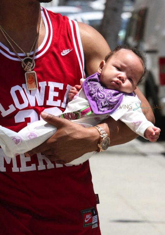 T.I. steps out in Beverly Hills with daughter Heiress
