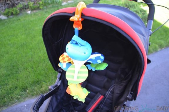 Tiny Love Take Along Mobile on stroller