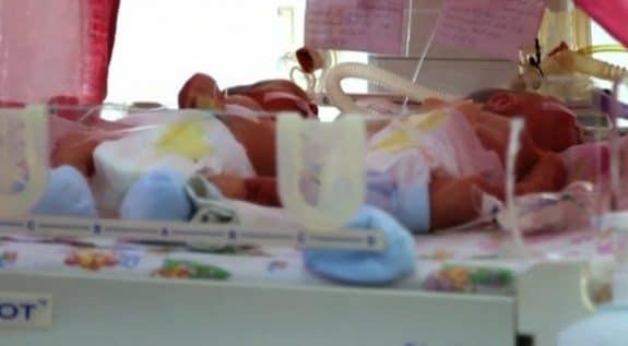 Ukrainian mom Oksana Kobeletska welcomes quintuplets