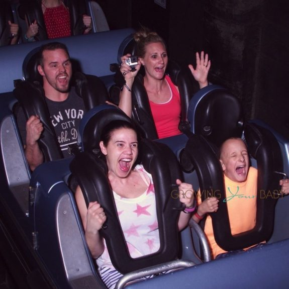 Us on Rockin Roller Coaster Hollywood Studios WDW