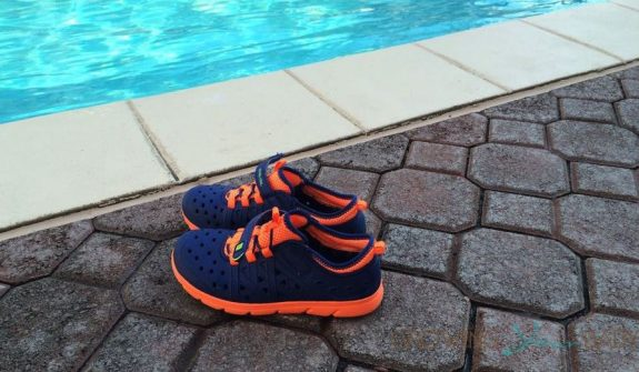 stride Rite phibian shoes pool