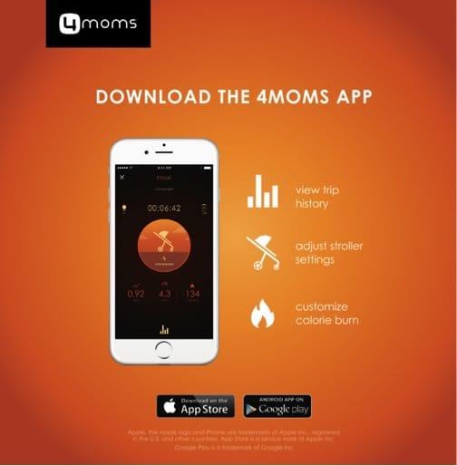 4moms Moxi - app