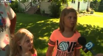 9-Year-Old Indiana Girl Finds Abandoned Baby While Playing in Backyard