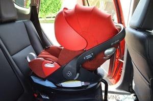 CYBEX Cloud Q infant Car Seat review f