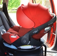 Cybex Steps Up The Infant Seat Game With The Cloud Q! {VIDEO Review}