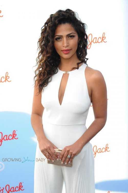Camila Alves at the Target Cat & Jack Launch Celebration