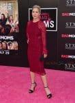 Christina Applegate walks the red carpet at the 'Bad Moms' LA Premiere