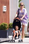 Doutzen Kroes On Holiday In Ibiza with daughter Myllena