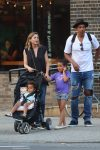 Ellen Pompeo and Chris Ivery out in NYC with kids Sienna and Stella