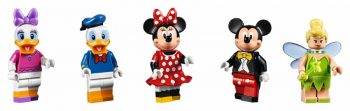 LEGO 71040 The Disney Castle - characters