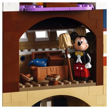 LEGO 71040 The Disney Castle - chest with book of spells
