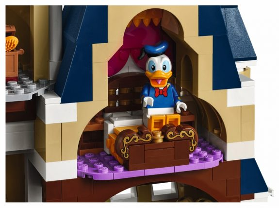 LEGO 71040 The Disney Castle - fourth floor bedroom