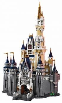 LEGO 71040 The Disney Castle - front